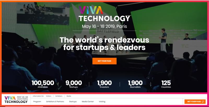 "G2 Startups è ""Ecosystem Partner"" di VivaTech 2019"