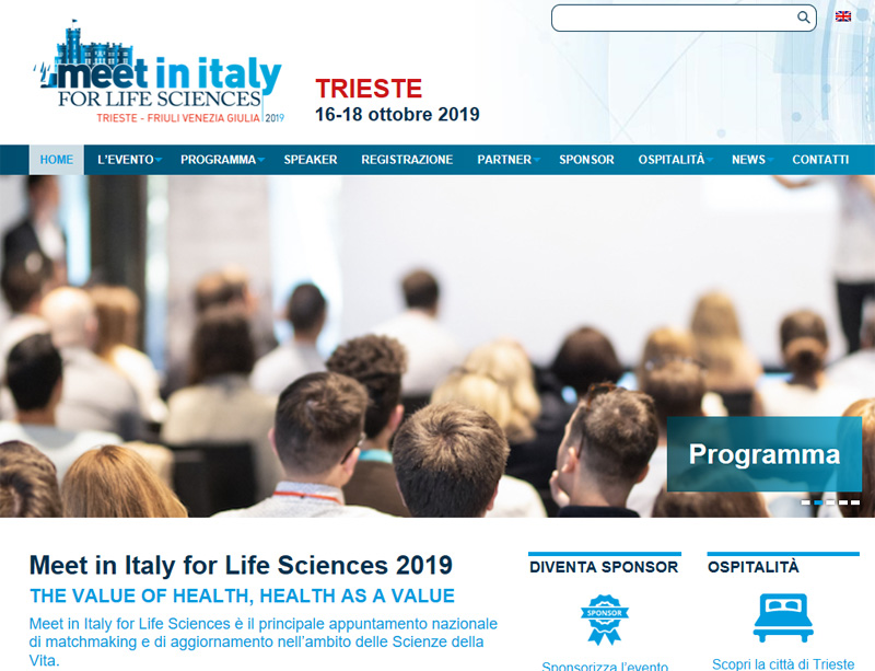 Digital Health Lab partecipa a Meet in Italy for Lifescence 2019
