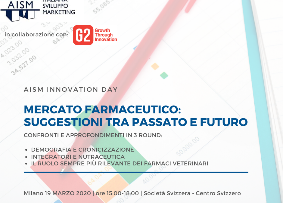 G2 Startups e AISM (Ass.Italiana Sviluppo Marketing) insieme per parlare di Salute